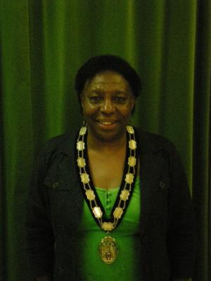Miss Anthea Ambrose Town Mayor