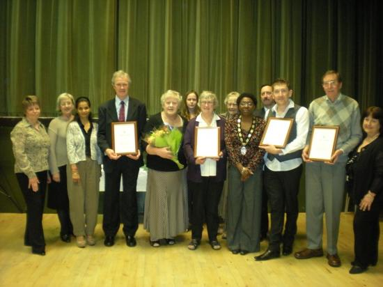 Recipients of the Award of Merit 2011