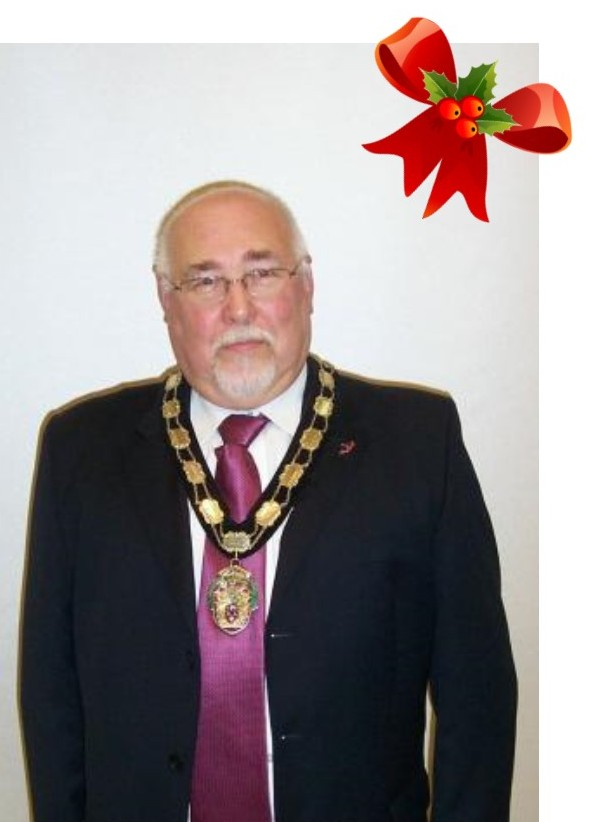 Bill Wright Town Mayor Christmas