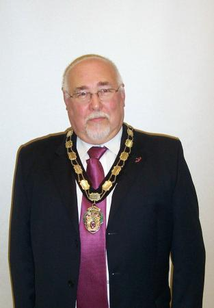 Mr Bill Wright Town Mayor