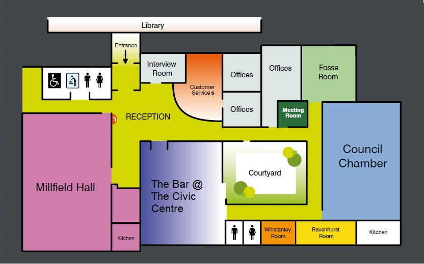 Civic Centre Floor Plan