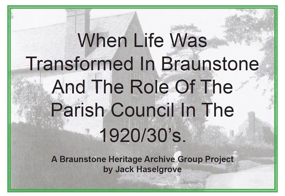 When Life Was Transformed in Braunstone 20s 30s book cover